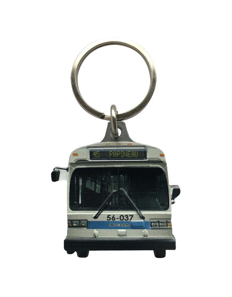 PORTE CLÉS - Autobus GM Classic (45 Papineau)