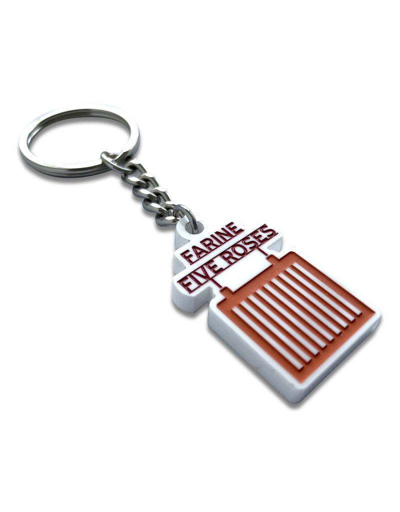 Keychain - Five Roses