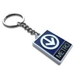 Porte clés - Logo du métro (Lilipop)