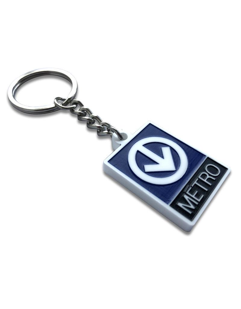 Keychain- Metro logo (Lilipop)