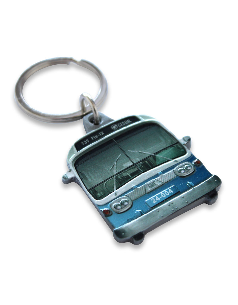 KEYCHAIN - NEW LOOK BUS # 139 Pie IX