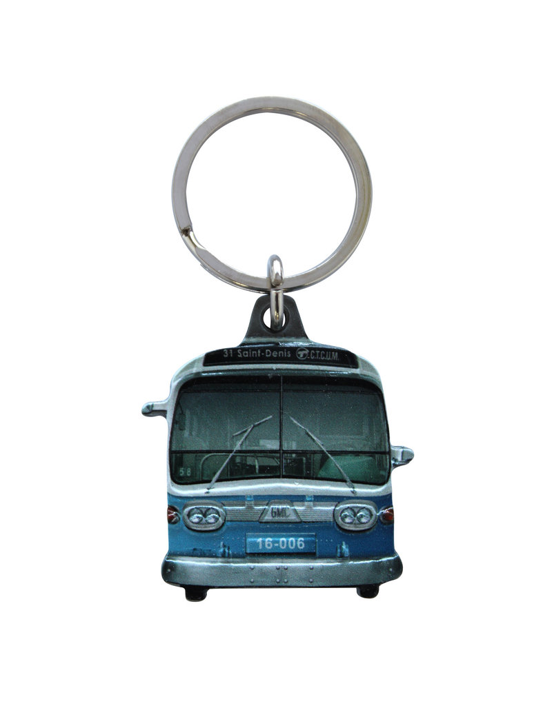 KEYCHAIN - NEW LOOK BUS  #31 St-Denis