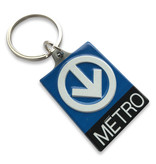 PORTE CLÉS - Logo métro