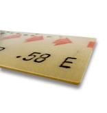 CADRE EN ACRYLIQUE - Billet de correspondance