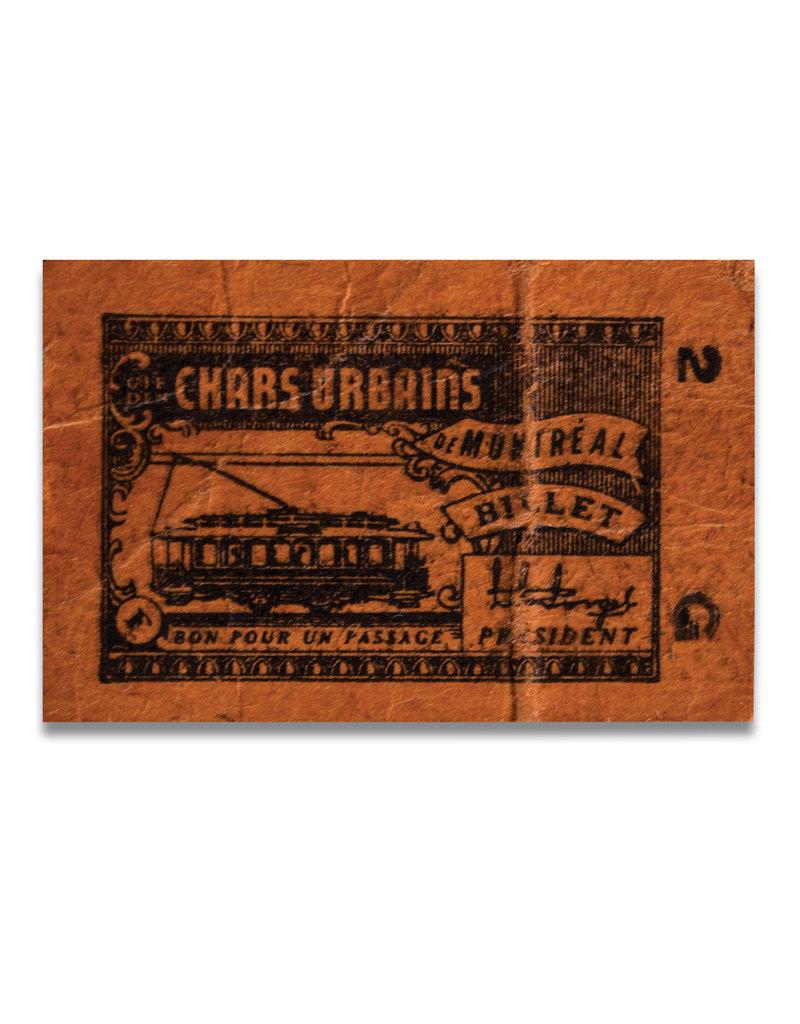 ACRYLIC FRAME - Chars Urbains 1861-1961