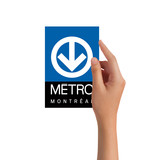 Post card - Metro logo
