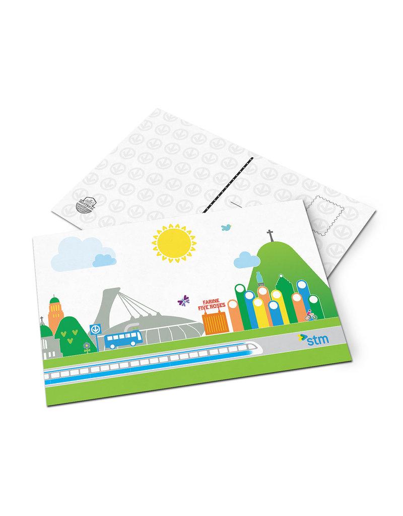 Post card - STM city