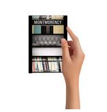 Carte Postale - Montmorency (Jesse Riviere)