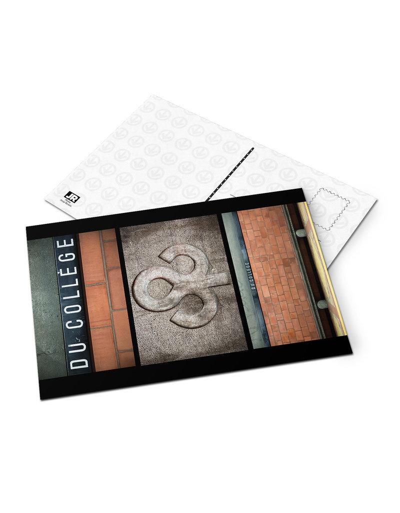Carte postale - Du College (Jesse Riviere)
