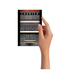 Post card - Laurier (Jesse Riviere)