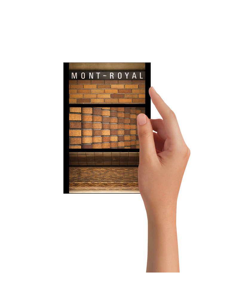 Post card - Mont-Royal (Jesse Riviere)