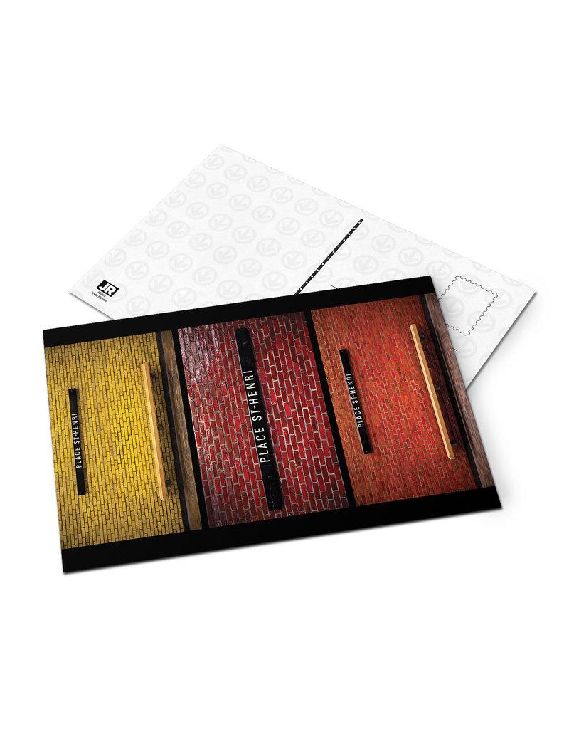 Carte postale - Place-ST-Henri (Jesse Riviere)