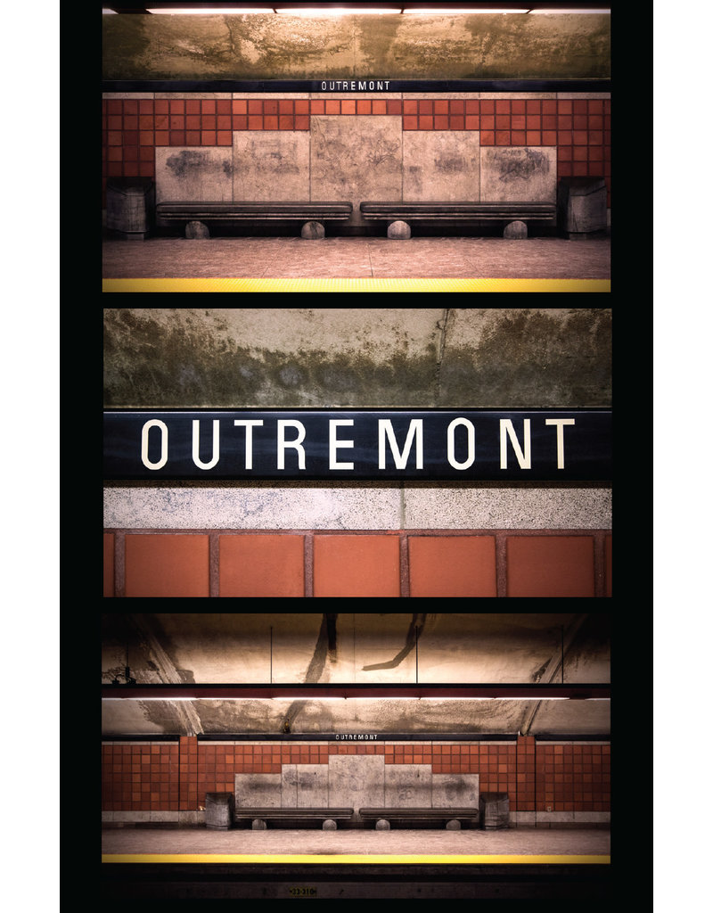 Carte postale - Outremont (Jesse Riviere)