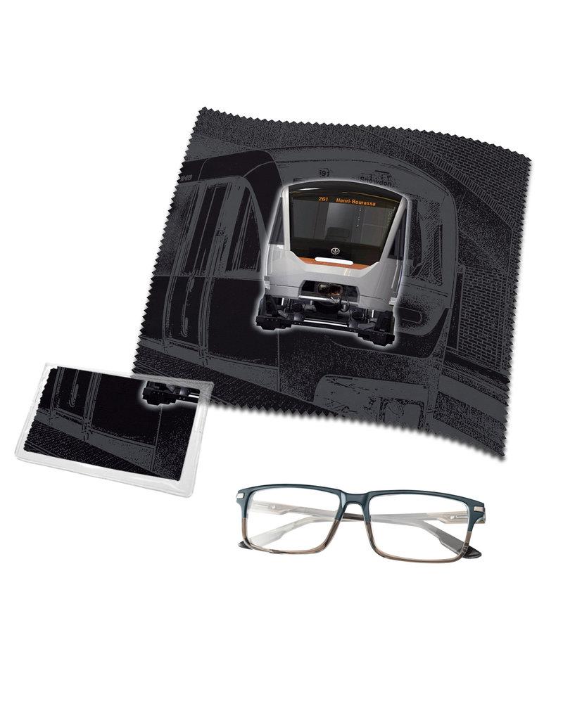Lingette de lunettes - Azur