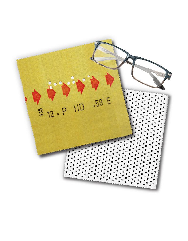 Lingette de lunettes - Billet de correspondance
