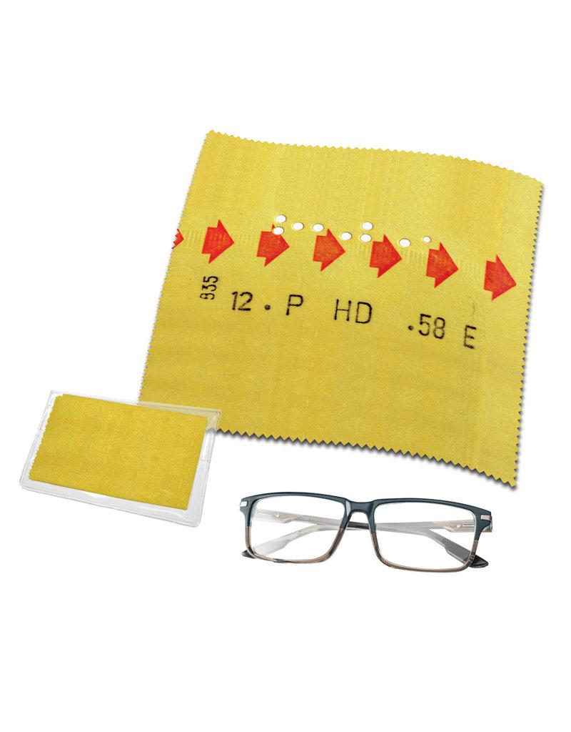 Lens cloth - Yellow correspondance ticket