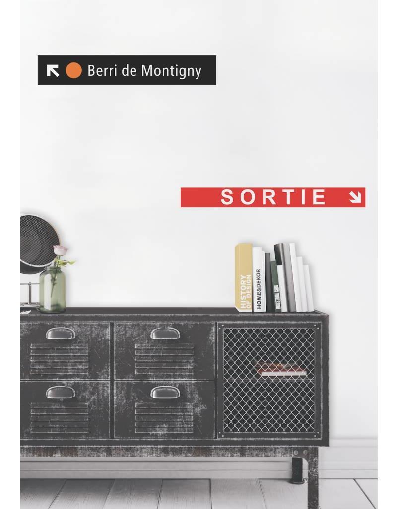 ADHÉSIF SIGNALÉTIQUE - Berri-de Montigny