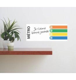 TABLEAU BLANC- Lignes