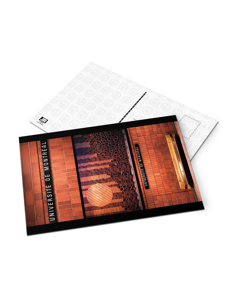 Carte postale -Université-de-Montréal (Jesse Riviere)
