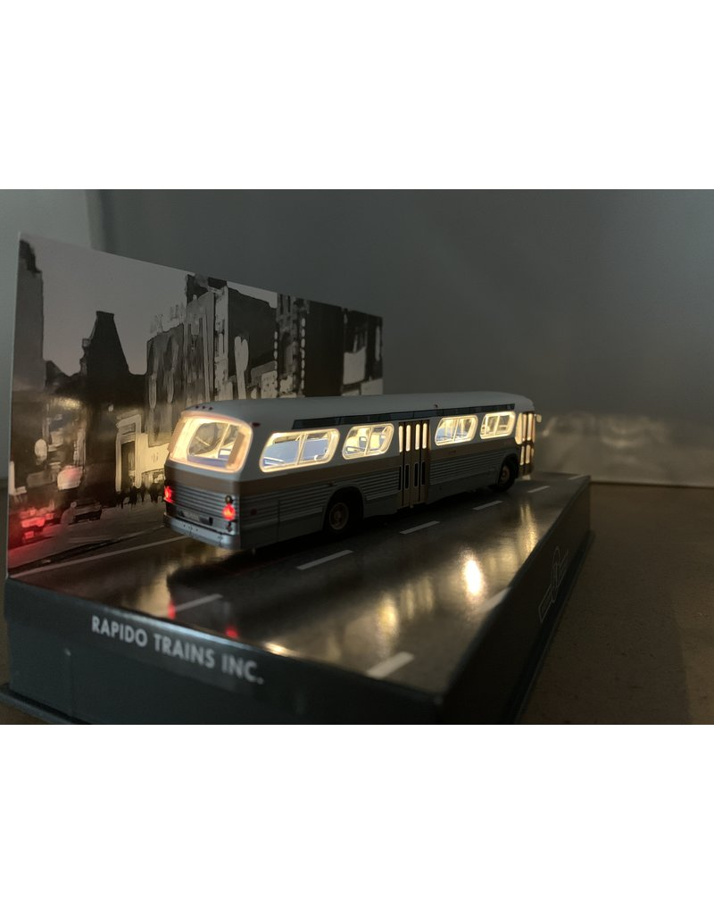 C.T.C.U.M. New Look brown Bus - Deluxe edition - 1/87 scale - #15-061