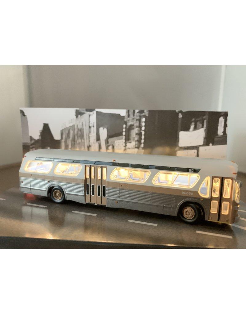 MODÈLE ÉCHELLE 1/87 - Autobus New Look brun C.T.C.U.M.  Édition Deluxe #15-018