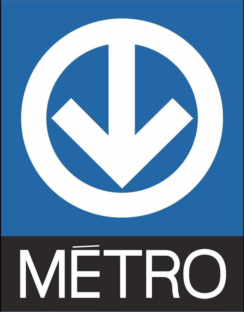 METRO LOGO - POSTER