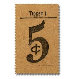 CADRE EN ACRYLIQUE - Ticket 5₵