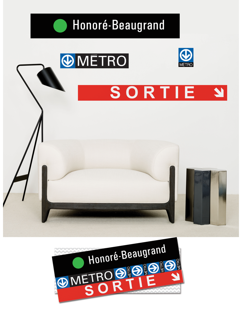 ADHÉSIF SIGNALÉTIQUE - Honoré-Beaugrand