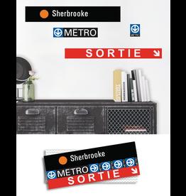 ADHÉSIF SIGNALÉTIQUE - Sherbrooke