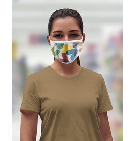 Reusable face mask - Colored chevrons