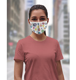 Reusable face mask - Flowers