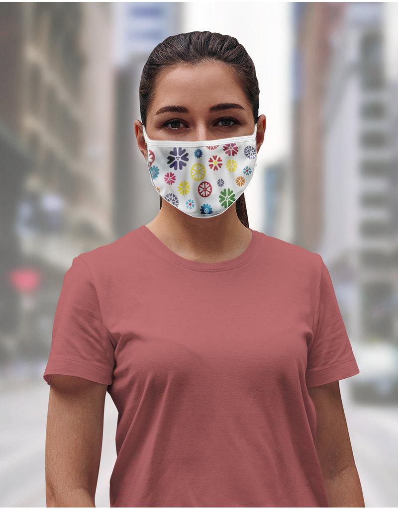 Masque réutilisable - Fleurs