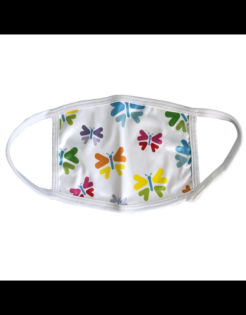 Masque réutilisable - Papillons