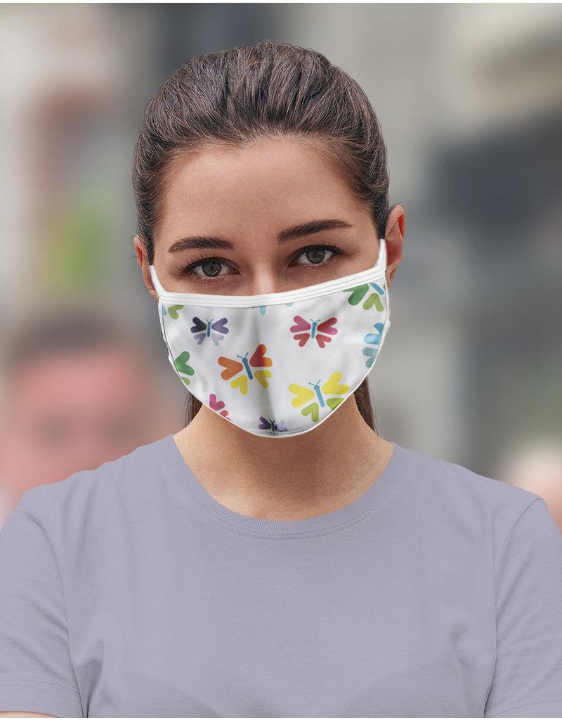 Reusable face mask - Butterflies