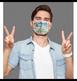 Reusable face mask - Imagerie city