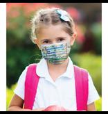 Masque réutilisable - Imagerie - Ville - Enfant