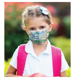 Reusable face mask - Imagerie - City - Kids