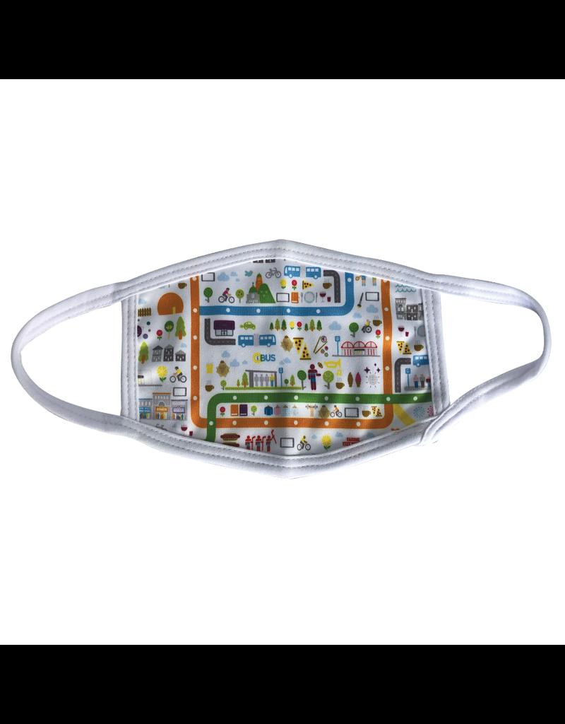 Reusable face mask - Imagerie - City - Kids