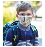 Reusable face mask - Metro map - White - Kids