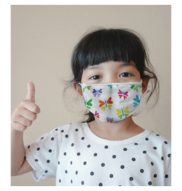 Reusable face mask - Butterflies - Kids