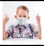 Reusable face mask - Bus pattern - Kids