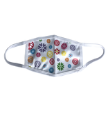 Reusable face mask - Flowers - Kids