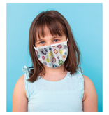 Masque réutilisable - Fleurs - Enfant