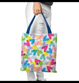 Canvas Bag - CHEVRONS COLOURS