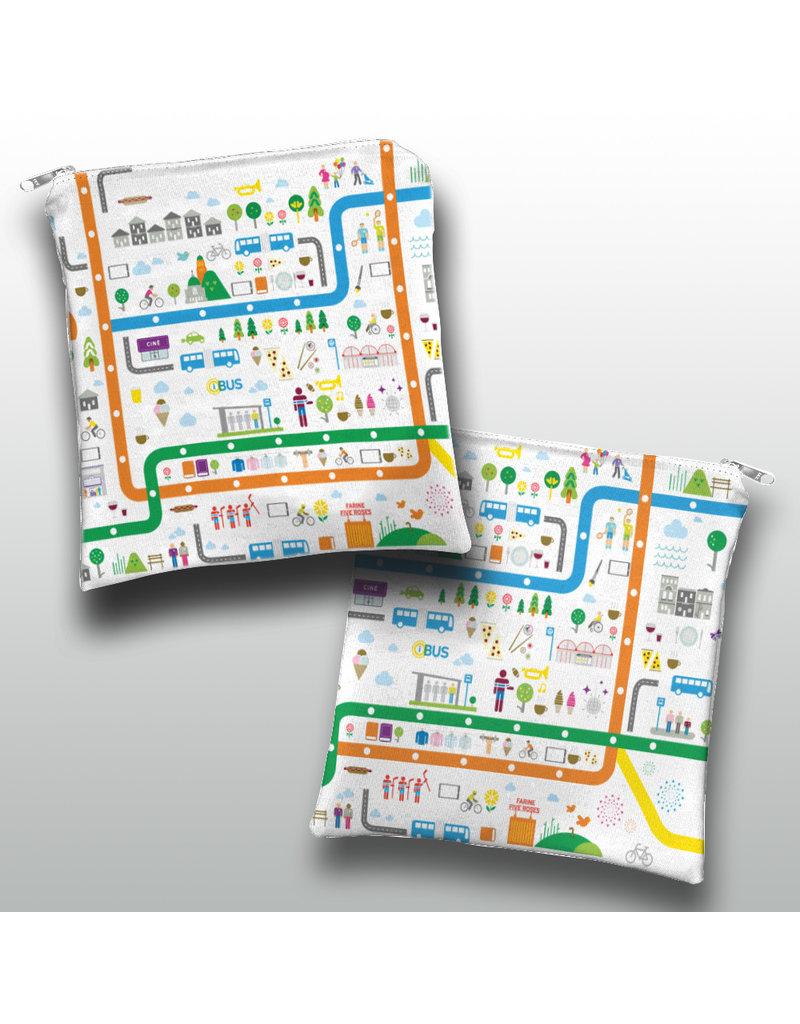 Sandwich bag - City imagery