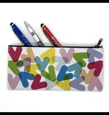 Étui à crayons - Chevrons couleurs