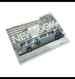 Aimant Autobus NewLook bleu profile