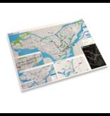 STM MAP VINTAGE POSTER