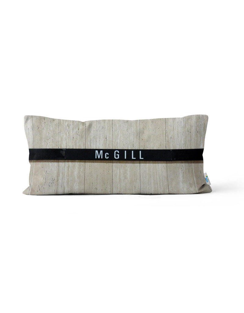 PILLOW - McGill / Peel Stations