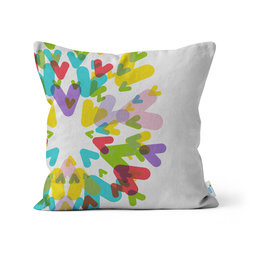 PILLOW - Colourful Chevrons